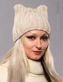 Зимняя шапка с ушками (502051) (502051) - foto