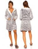 Флисовый халат с ушками MF5001 (145001) - цена, 4