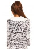 Флисовый халат с ушками MF5001 (145001) - 3, 8