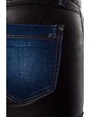Джинсы с кожаными шортами Chic BonBon (108029) - 3, 8