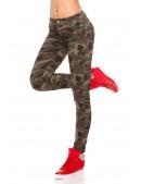 Камуфляжные женские джинсы MF8078 (108078) - 3, 8