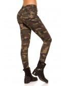 Камуфляжные женские джинсы MF8087 (108087) - материал, 6