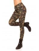 Камуфляжные женские джинсы MF8087 (108087) - 3, 8