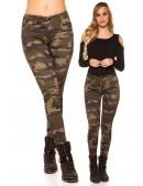 Камуфляжные женские джинсы MF8087 (108087) - цена, 4