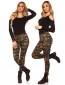 Камуфляжные женские джинсы MF8087 (108087) - 4, 10