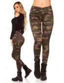 Камуфляжные женские джинсы MF8087 (108087) - foto