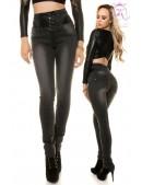 Черные джинсы с высокой талией KouCla (108101) - foto