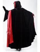 Двусторонняя накидка с капюшоном (122001) - оригинальная одежда, 2