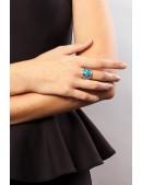 Кольцо с бирюзой J6273 (jene62730b) - цена, 4