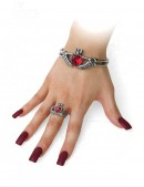 Кольцо Кладдах Alchemy Gothic (AGR210) - оригинальная одежда, 2