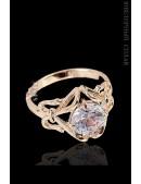 Позолоченное кольцо Паккарик, Jenavi (jn708q44) - foto