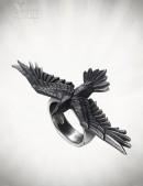 Кольцо Black Consort (AGR205) - foto