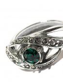Кольцо с камнями Swarovski 80530 (jenh80530) - цена, 4