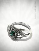 Кольцо с камнями Swarovski 80530 (jenh80530) - оригинальная одежда, 2