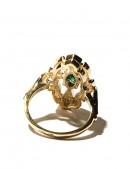 Кольцо с позолотой и родием Jenavi (jena251q0a) - цена, 4