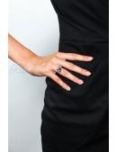 Кольцо с голубым Swarovski (jena16930) - оригинальная одежда, 2