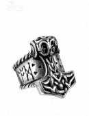Кольцо Молот Тора (ручная работа) (AGR171) - foto