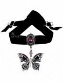 Подвеска Death's-Head Butterfly (AGP633) - оригинальная одежда, 2