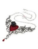Колье The Blood Rose Heart (AGP721) - оригинальная одежда, 2