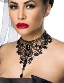 Кружевное ожерелье-чокер A6153 (706153) - foto