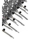 Кружевное ожерелье с цепочками XJ6206 (706206) - оригинальная одежда, 2