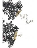 Кружевное ожерелье с цепочками XJ6206 (706206) - цена, 4