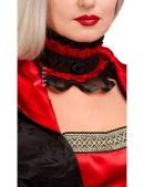 Ожерелье-чокер с розой XA212 (706212) - оригинальная одежда, 2