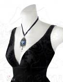 Колье Blue Diamond (AGP531) - оригинальная одежда, 2