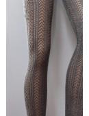 Колготки серые вязаные C4057 (904057) - оригинальная одежда, 2
