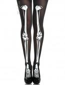 Колготки с принтом скелета (904538) - foto