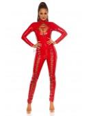 Красный комбинезон под латекс KouCla (126220) - оригинальная одежда, 2
