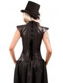 Жилетка-корсет с вышивкой X161 (121161) - оригинальная одежда, 2
