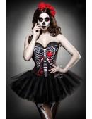 Корсет на Хэллоуин Skull Senorita (121143) - foto