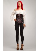 Корсет Стимпанк с пряжками XC50 (121150) - оригинальная одежда, 2
