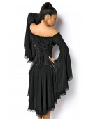 Корсет Стимпанк с удлиненной боковой частью (121157) - оригинальная одежда, 2