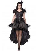 Корсет Gothic Crow Lady (121171) - 4, 10