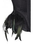 Корсет Gothic Crow Lady (121171) - цена, 4