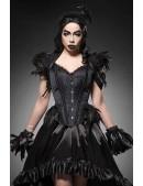 Корсет Gothic Crow Lady (121171) - foto
