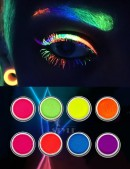 Неоновые UV-тени (8 цветов) (120007) - foto