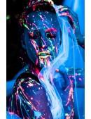 Неоновые краски для лица и тела (6 цветов) (120010) - материал, 6