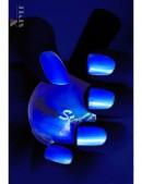 Неоновый синий UV-лак для ногтей Stargazer (130002) - foto