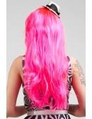 Длинный розовый парик Hot Pink CC3024 (503024) - оригинальная одежда, 2