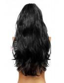 Длинный черный парик Cosplay Couture (503025) - материал, 6