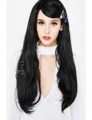 Длинный черный парик Cosplay Couture (503025) - цена, 4