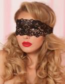 Ажурная черная маска 901011 (901011) - оригинальная одежда, 2
