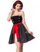 Пляжная юбка в горошек B0117 (140117) - материал, 6