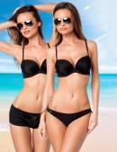Черный купальник с шортиками 140089 (140089) - foto
