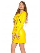 Байкерская куртка женская KC2026 (112026) - 3, 8