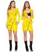 Байкерская куртка женская KC2026 (112026) - цена, 4