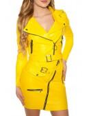 Байкерская куртка женская KC2026 (112026) - 4, 10